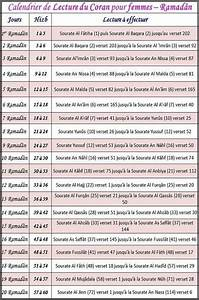 Fleur D Islam Horaire Priere : document plannings de lecture du coran pour le ramadan islam info ~ Medecine-chirurgie-esthetiques.com Avis de Voitures