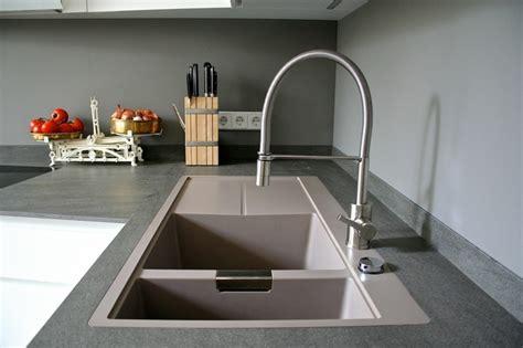 eviers cuisine évier granit de design moderne par schock