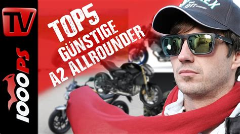 Video Top 5  Günstige A2 Allround Motorräder