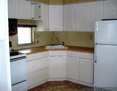 michael biondos single wide mobile home remodel kitchen