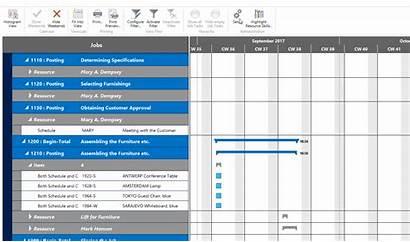 Project Planning Jobs Visual Practice Nav