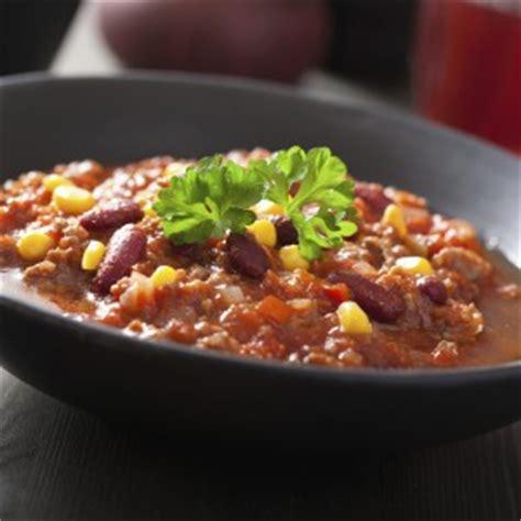 recette chili  carne traditionnel