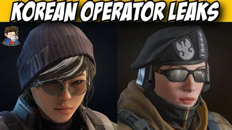 siege korian rainbow six siege south operator attacker