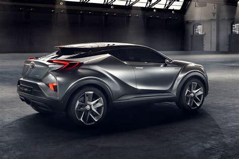 Toyota C Hr Concept Car Body Design