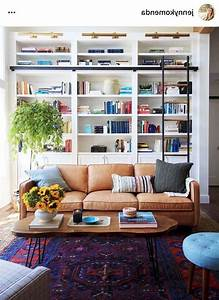 58, Stunning, Library, Room, Design, Ideas, With, Eclectic, Decor