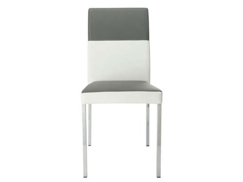 chaise de cuisine conforama chaise empilable milo coloris gris blanc vente de chaise