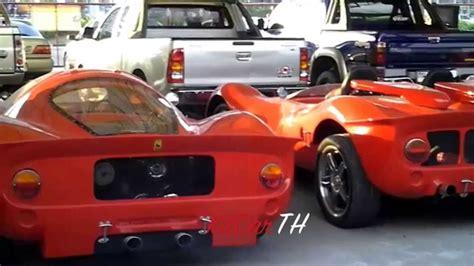 replica kit cars sale buying replica car p4 youtube
