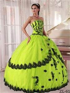 Plus Size Under 200 Cheap Lime Green Quinceanera Dresses