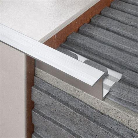 tile trims aluminium plastic tile trims diy  bq