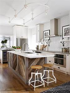 20 dreamy kitchen islands hgtv for Kitchen island images