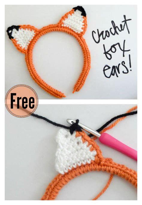 crochet fox patterns page