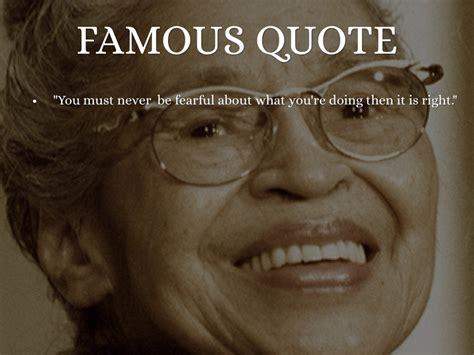 Rosa Parks Famous Quotes Quotesgram