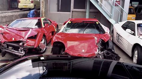 Japanese Exotic Car Pile Up Becomes World's Most Expensive