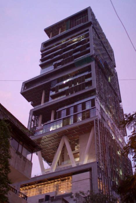 largest india single mansion worlds mumbai biggest houses built antilla monster most homes expensive residence indian building ambani treehugger antilia