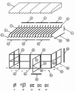 Building Patio Roof Diagram