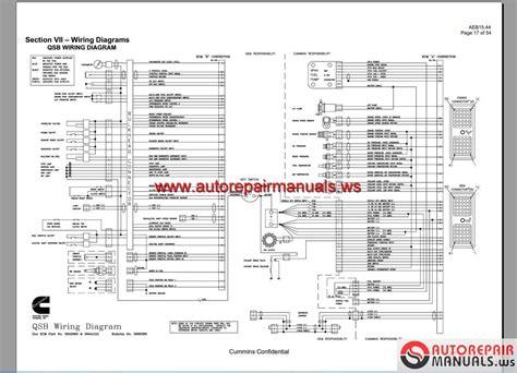 cummins wiring diagram full dvd auto repair manual forum