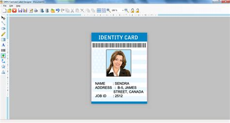 label maker software photo id card creator flyer leaf