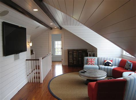 Low Ceiling Attic Bedroom Ideas by 10 Attic Spaces That Offer An Additional Living Room