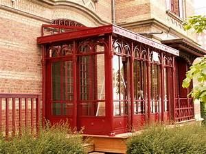 Veranda à L Ancienne : fabrication d 39 une v randa en acier fineline ats ~ Premium-room.com Idées de Décoration