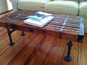 Coffee table stunning rustic reclaimed wood coffee table for Round weathered coffee table