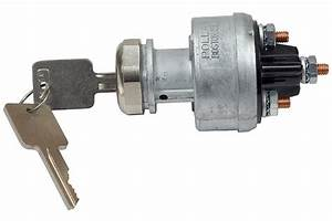 Ignition Switch Diesel Engine Glow Plug Warming Position