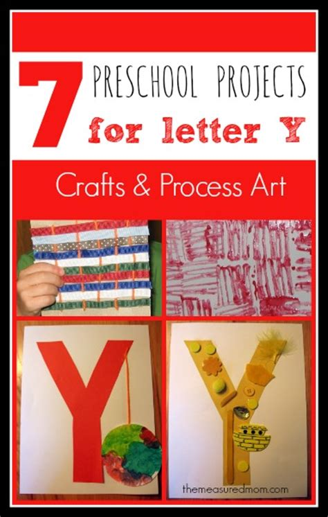 7 letter y crafts and process for preschoolers the 743   preschool crafts for letter Y 1 the measured mom