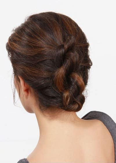 Work Hairstyles Updos by 12 Easy Office Updos Buns Chignons More For Busy For