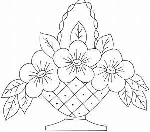 flower basket 9 | Flower basket, Flower and Embroidery