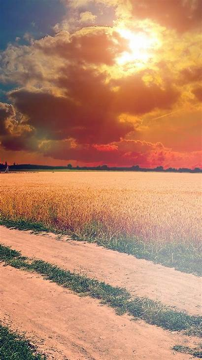 Nature Sunny Instagram Wallpapers Farm Iphone Smartphone
