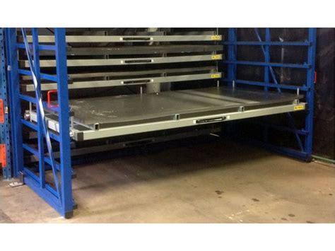 metal sheet rack horizontal contact eurostorage