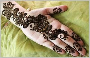 Simple Arabic Mehndi Designs For Hands Step By Step For ...