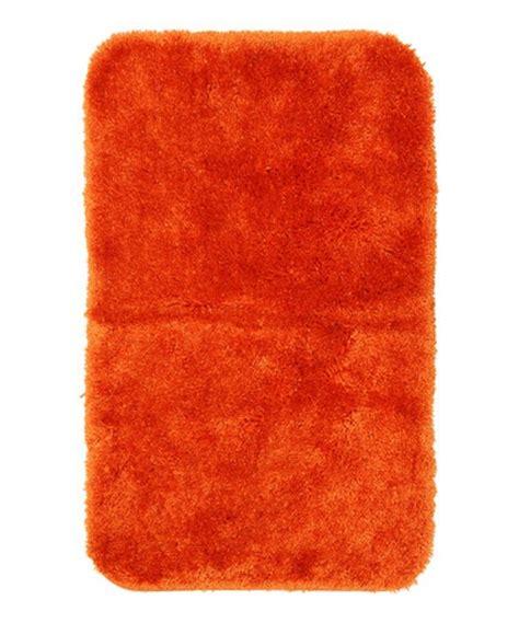Bright Bathroom Rugs by Bright Orange Royal Luster Bath Rug