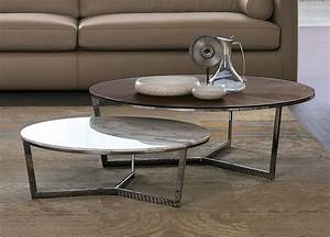alivar harpa coffee table modern coffee tables by alivar With designer round coffee tables