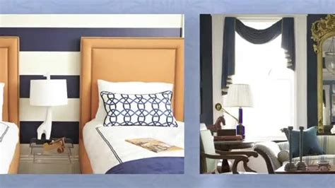 palette classic blue white traditional home