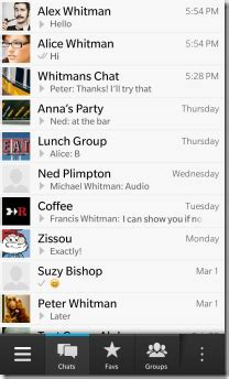 whatsapp messenger for blackberry 10 updated to v2 9 4951 berryreview