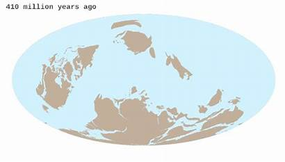 Pangea Pangaea Breakup Map Supercontinent Borders Evolution