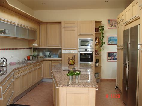 meuble cuisine chene meuble de cuisine en chene idées de décoration