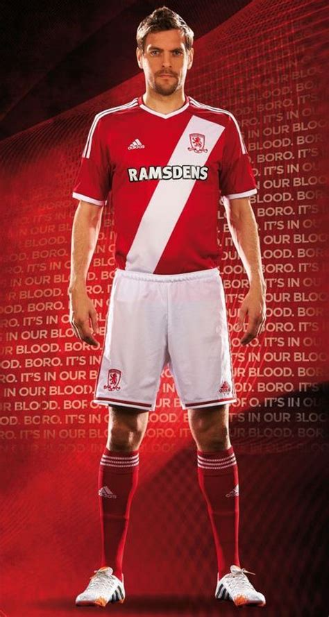 New Middlesbrough Strip 1415 Adidas Boro Kits 20142015