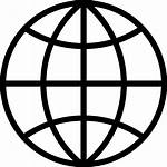 Icon Internet Earth Planet Globe Browser Ball