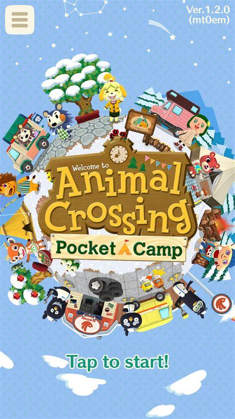 animal crossing pocket camp software updates latest
