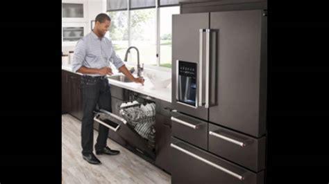 KitchenAid?s Black Stainless Steel Appliances   YouTube