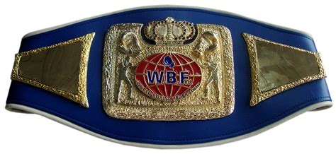 wbf boxing weltmeister guertel
