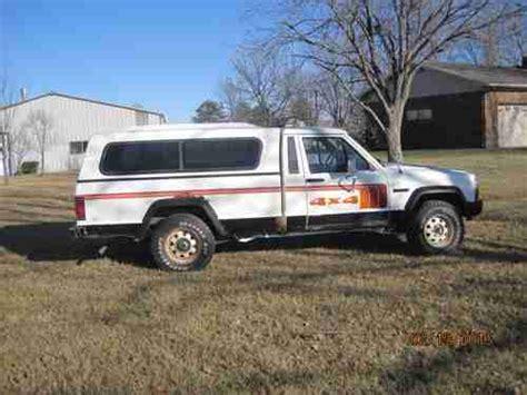 1986 jeep comanche 4x4 purchase used 1986 jeep comanche 4x4 longbed pickup in