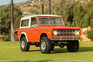 1972 Ford Bronco - Low Mileage With Original Paint Survivor