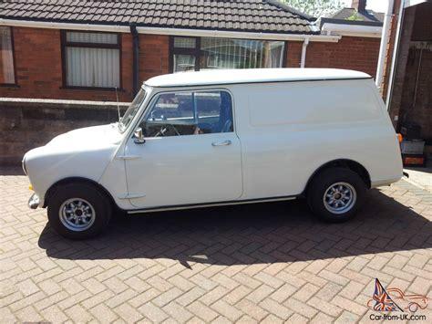 1982 Austin Morris Mini 95l White Mini Van