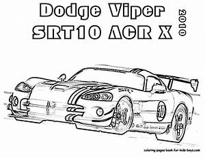 Free viper srt-10 coloring pages