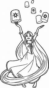 Coloring Pages Rapunzel Goosebumps Hannah Montana Lanterns Sheets Princess Printable Tangled Horrorland Getcolorings Hair Disney Wecoloringpage Familyfriendlywork Pag sketch template
