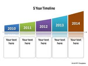 Year Timeline Template PowerPoint