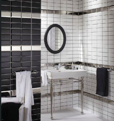 cuisine faillance salle de bain noir et blanc c 39 est la tendance déco deco cool