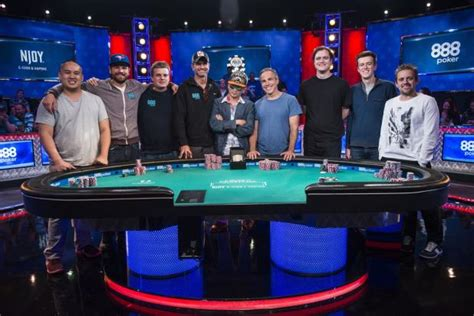 wsop main event final table 2017 wsop main event november nine final table day one recap
